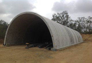 Toowoomba Second Range Crossing TechSpan® arch structure