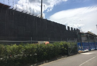 Wyong Rd & M1 Pacific Hwy Intersection Upgrade Reinforced Earth® Retaining walls