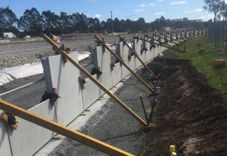 Gateway Upgrade North Project QLD Reinforced Earth® retaining wall