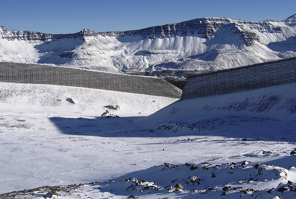 TerraTrel® Avalanche Barriers