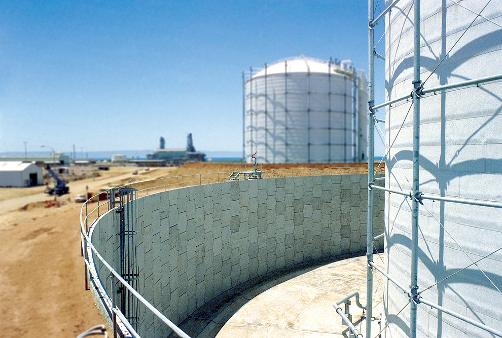 Stony Point LNG Tanks