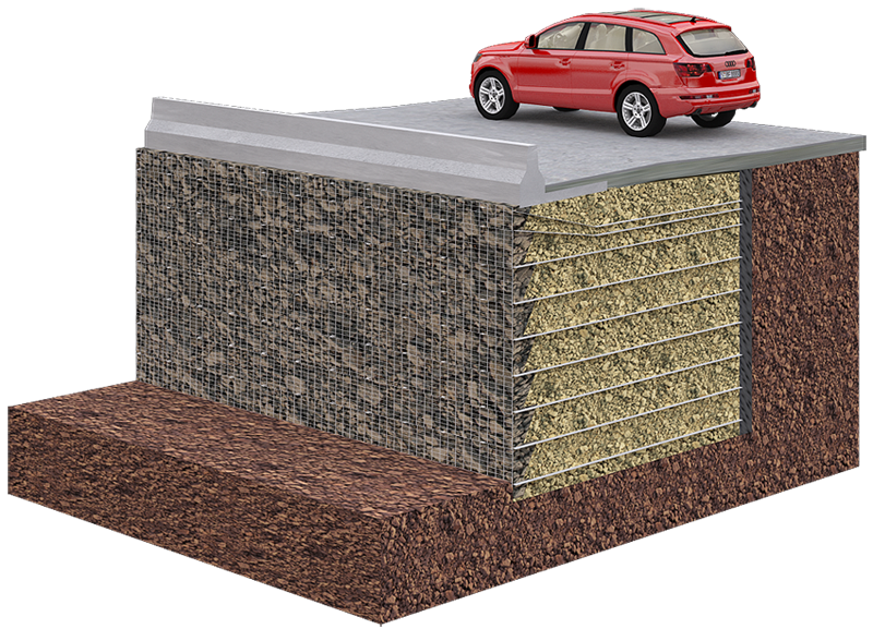 TerraTrel® Retaining Wall System