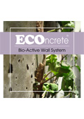 ECOncrete Bio-Active Wall System