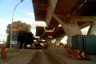 South Road Superway, South Australia.