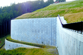 TerraClass® Reinforced Earth® Retaining Wall Aomori Airport Japan