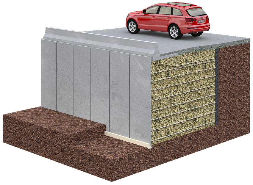 TerraTilt® Retaining Wall System